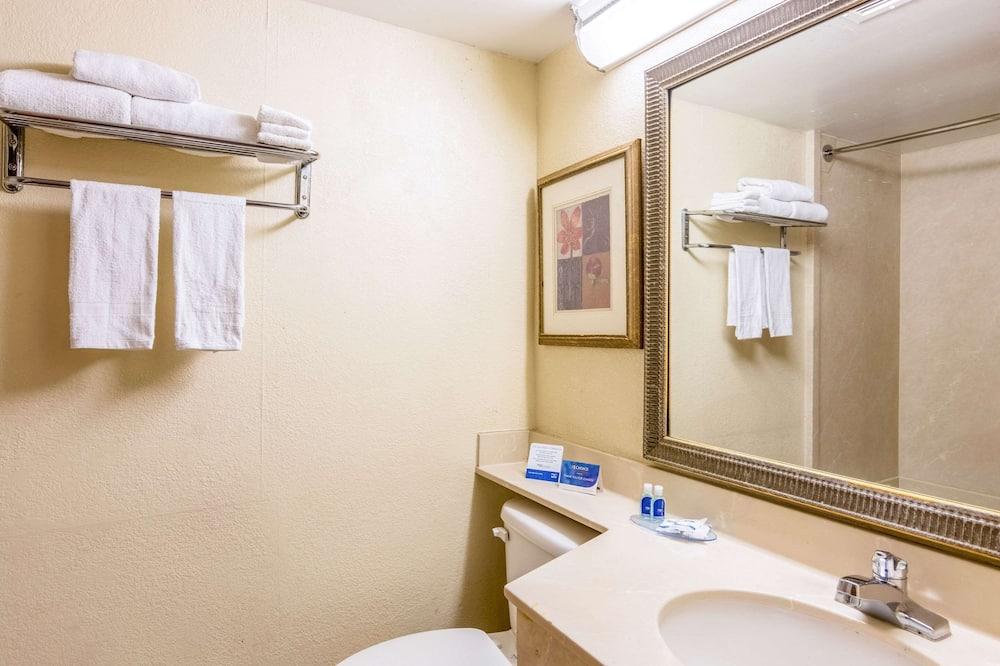 标准房, 1 张特大床, 无烟房 - 浴室