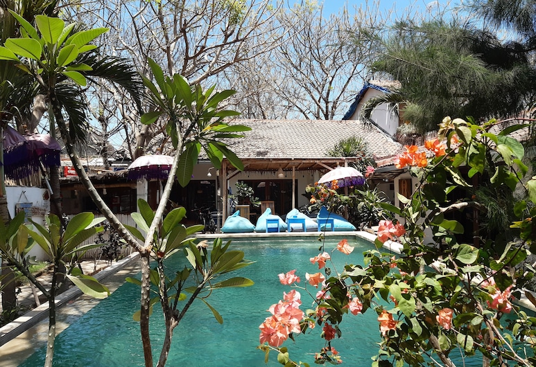 Dream Hotel, Gili Trawangan, Chambre Simple Supérieure, Vue sur le jardin