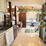 Апартаменты, 1 спальня (104) - Зона гостиной