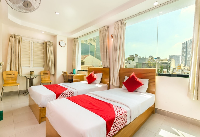 OYO 314 Anh Duong Hotel, Ho Chi Minh City, Deluxe Twin Room, Guest Room