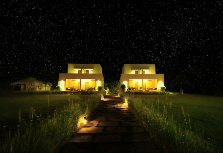 MACHLI A Wilderness Home, Sawai Madhopur, Hotel Front – Evening/Night