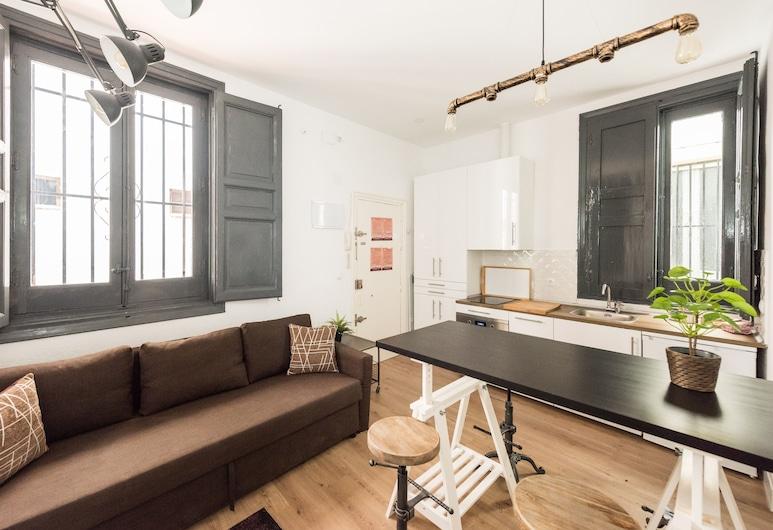 El Refugio de los Embajadores, Madrid, Apartment, 1 Bedroom, Living Area