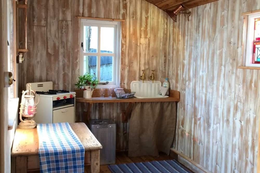 Ferienhütte - Wohnzimmer