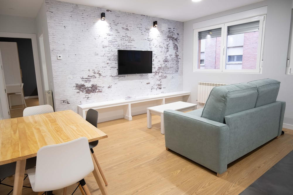Apartmán (I) - Obývací pokoj