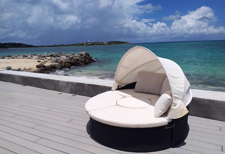 Apartment With 2 Bedrooms in Saint-martin, With Wonderful sea View, Shared Pool, Furnished Terrace, Nettle Bay, Terrass