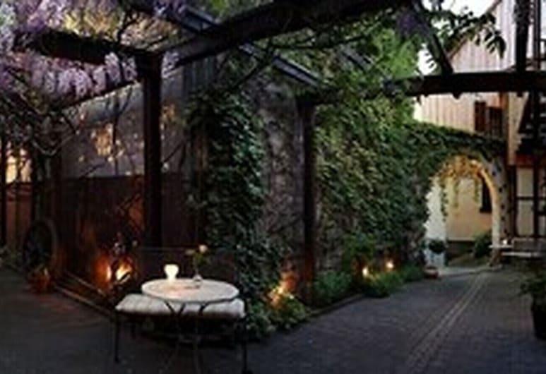 Hotel Adler, Bad Rappenau, Terraza o patio