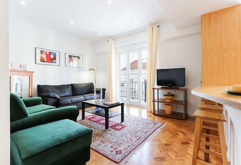 Campo Ourique Duplex by Homing, Lisbon, Apartment, 2 Bedrooms, Living Room