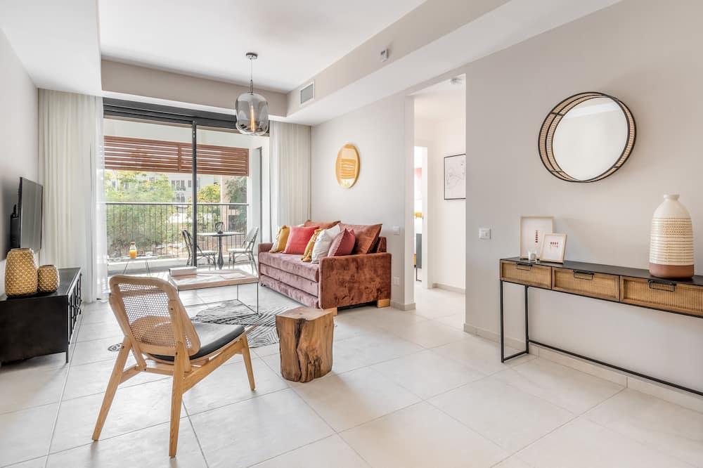 Luxusní apartmán - Obývací prostor