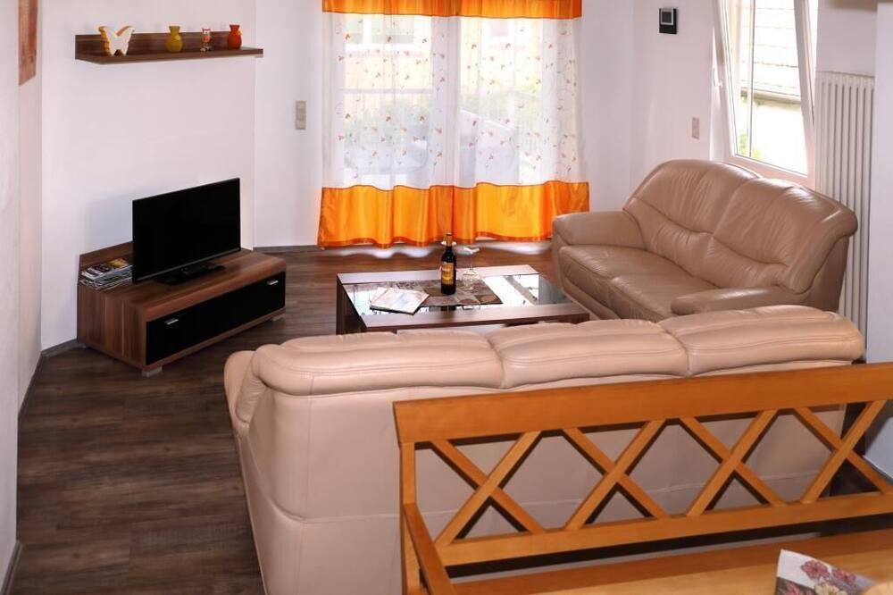 Apart Daire, Balkon - Oturma Odası