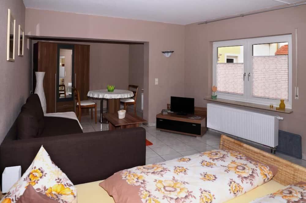 Apart Daire, 1 Yatak Odası, Teras - Oturma Odası