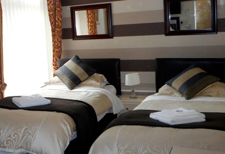 ローズリア ホテル, Blackpool, ツインルーム, 部屋