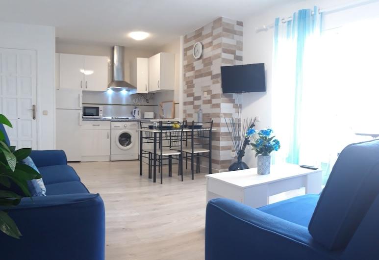 Ocean Looking Apartment, La Oliva, Lejlighed - 2 soveværelser - havudsigt, Opholdsområde