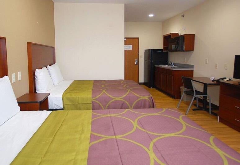白屋套房飯店, 普蘭菲爾德, 豪華雙人房, 客房