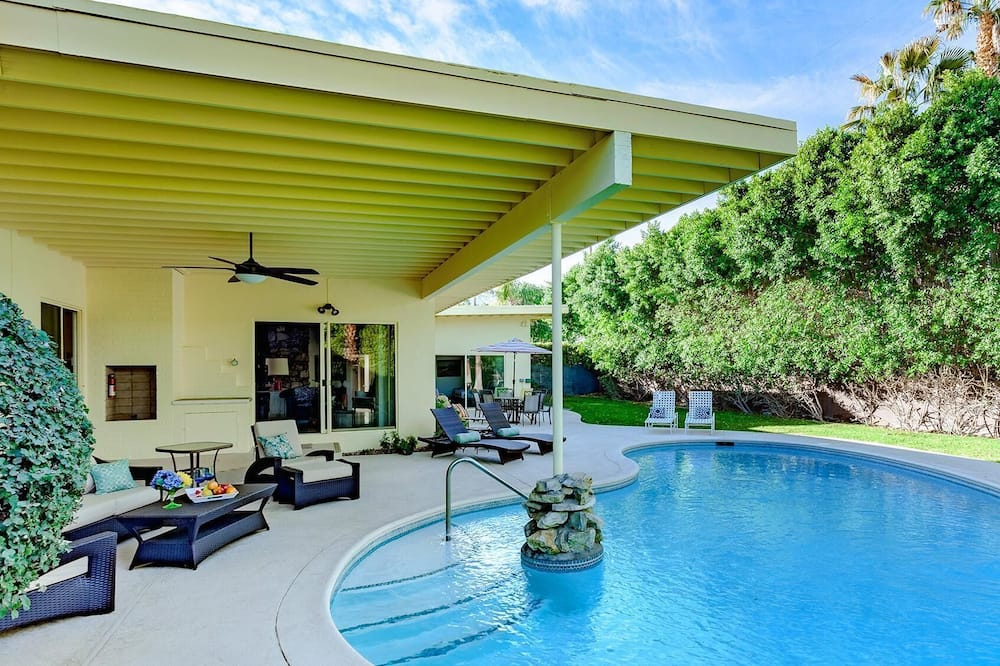 House, Multiple Beds (Chi Chi House) - Pool