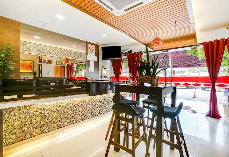 OYO 89593 CT Hotel, Sitiawan, Λόμπι
