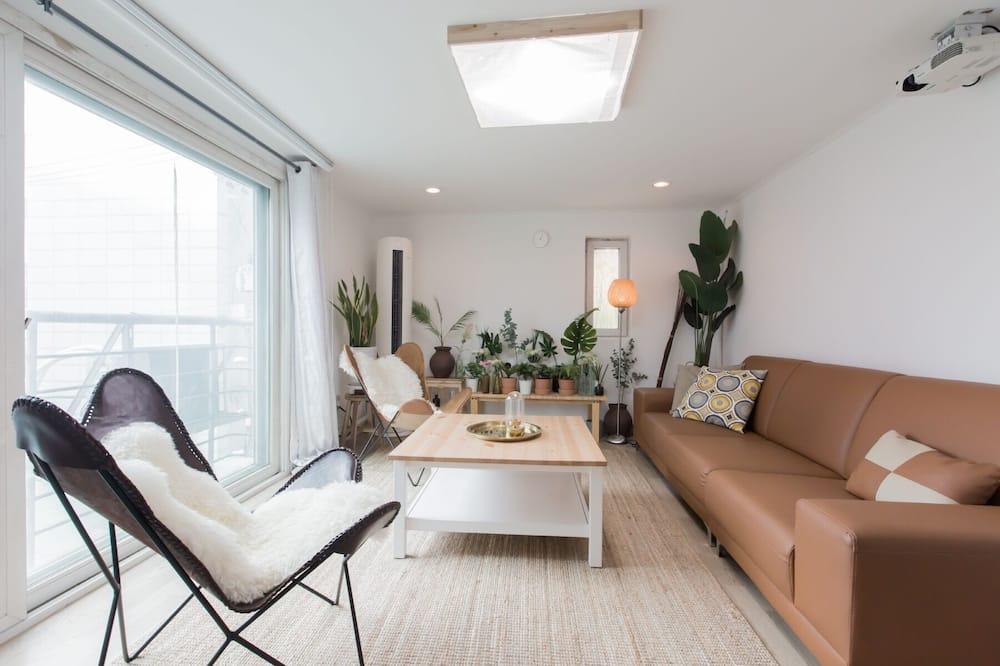 Rodinný apartmán - Obývačka