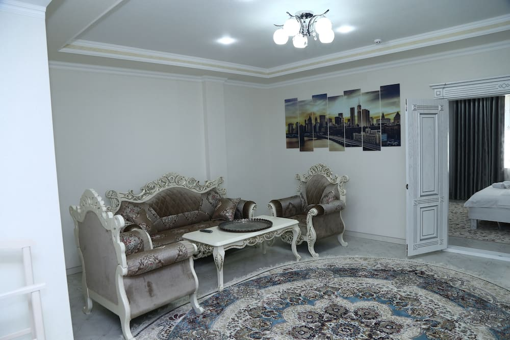 Suite, 1 soverom - Oppholdsområde