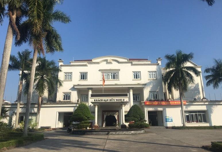 Khách sạn Hữu Nghị 2, Móng Cái, Mặt tiền khách sạn