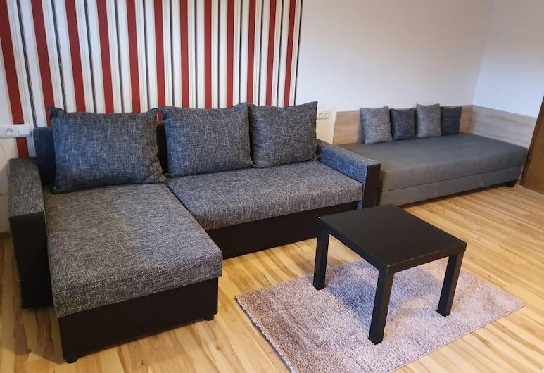 奧夫登貝格飯店, 梅德巴赫, 開放式客房 (Nr. 205, incl. 25 EUR Cleaning Fee), 客廳