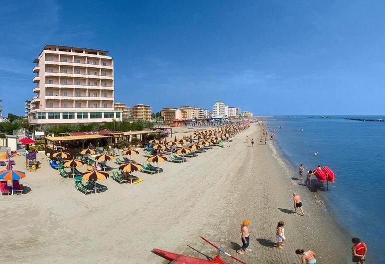 โรงแรมมาน, ราเวนนา, ชายหาด