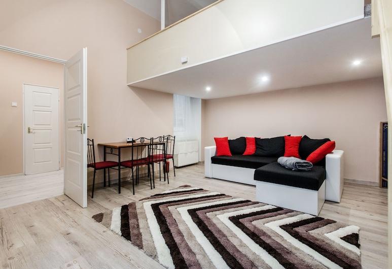 Akacfa 57 Apartment I., Budapešť, Apartmán, 1 spálňa, Obývacie priestory