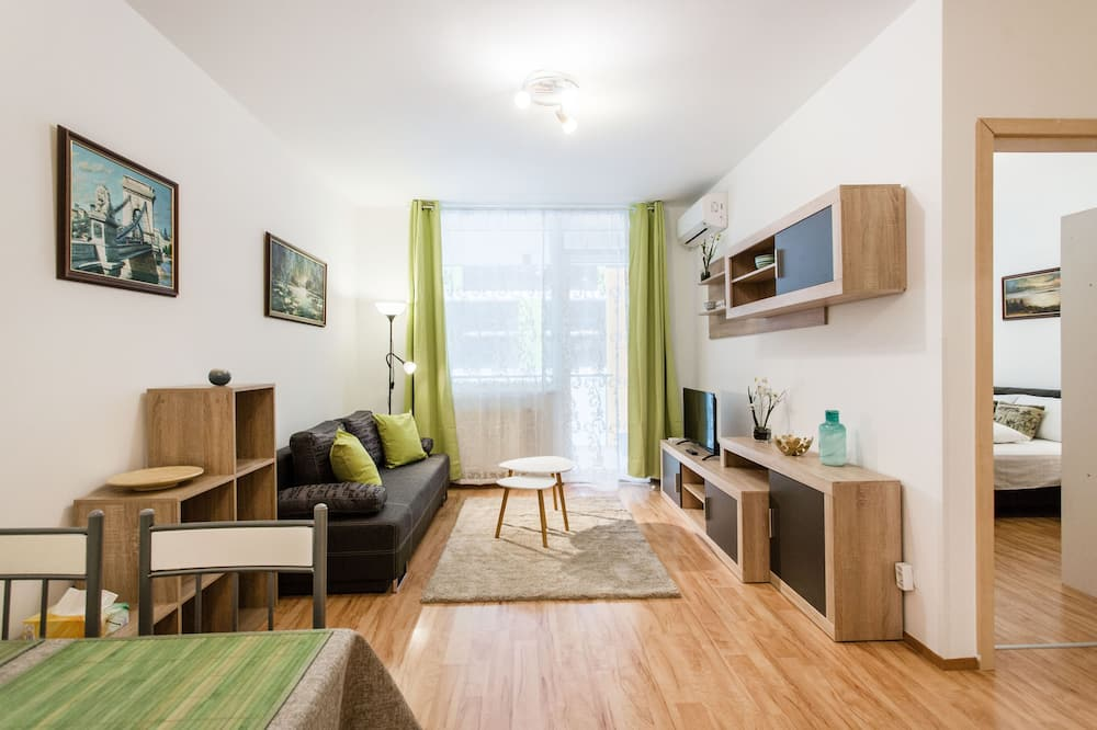 Lägenhet, 1 sovrum - Vardagsrum