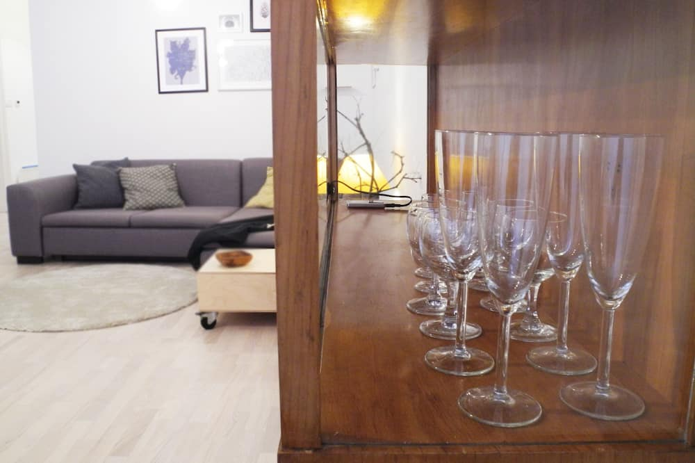 公寓, 1 間臥房 - 客廳