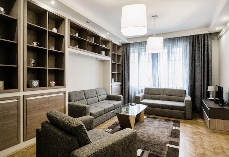 Nagymezo 33 Apartment, Budapeszt, Apartament z 2 sypialniami, Powierzchnia mieszkalna