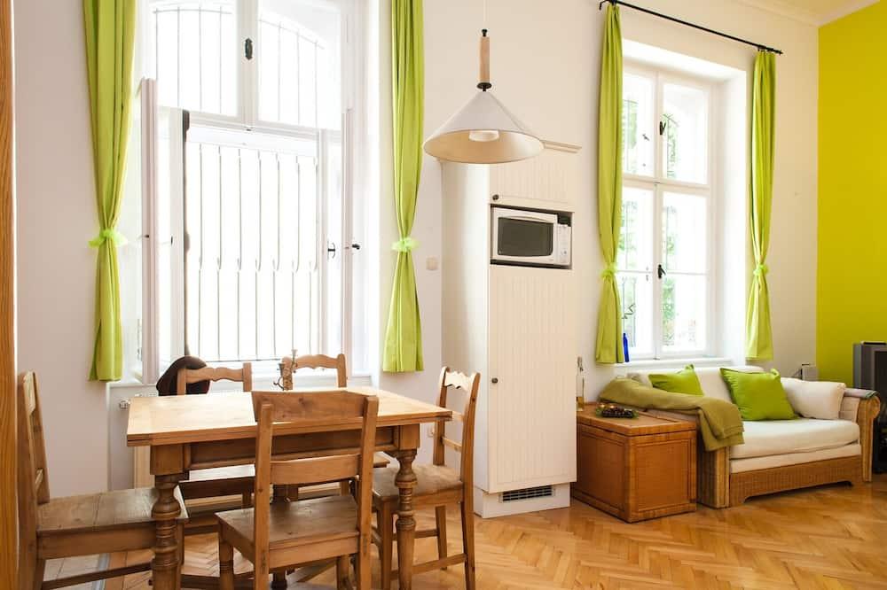 公寓, 1 間臥房 - 客房內用餐