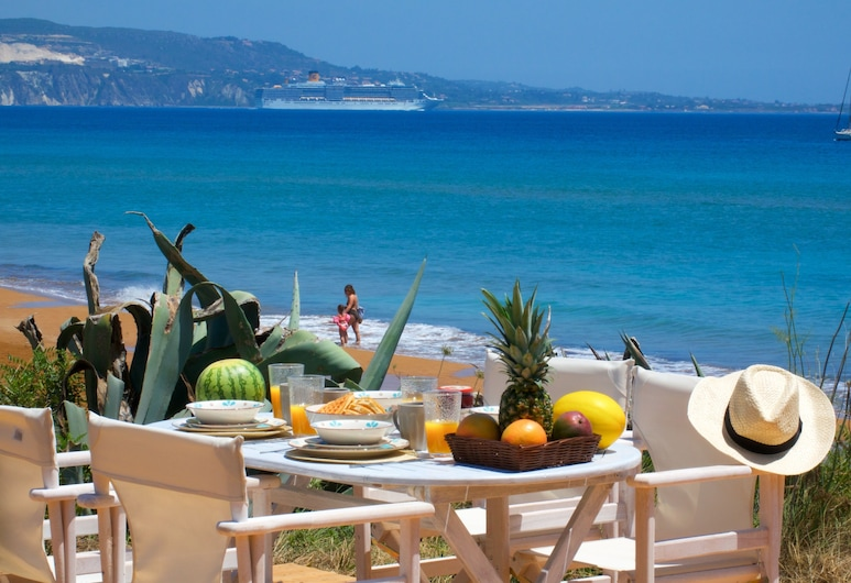 Grand Blue Beach Apartments & Suites, Kefalonia, Apartment, 2 Bedrooms, Sea View, Terrace/Patio