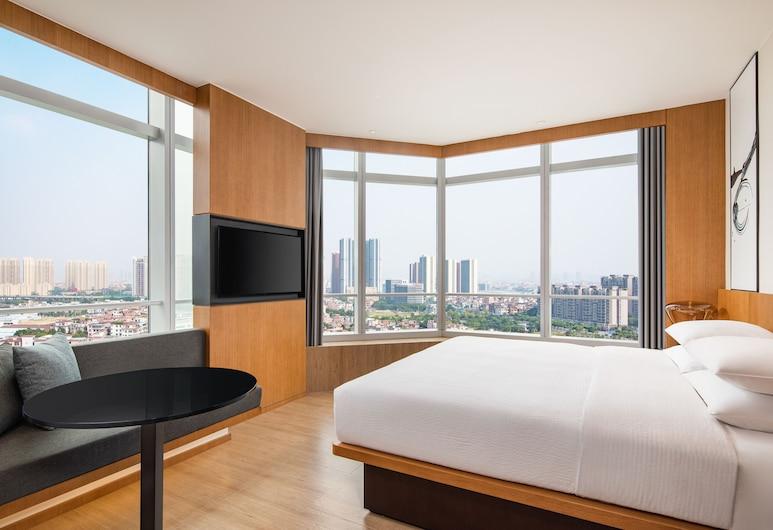 Fairfield by Marriott Foshan Nanhai, Foshan, Suite, 1King-Bett, Nichtraucher, Stadtblick, Zimmer