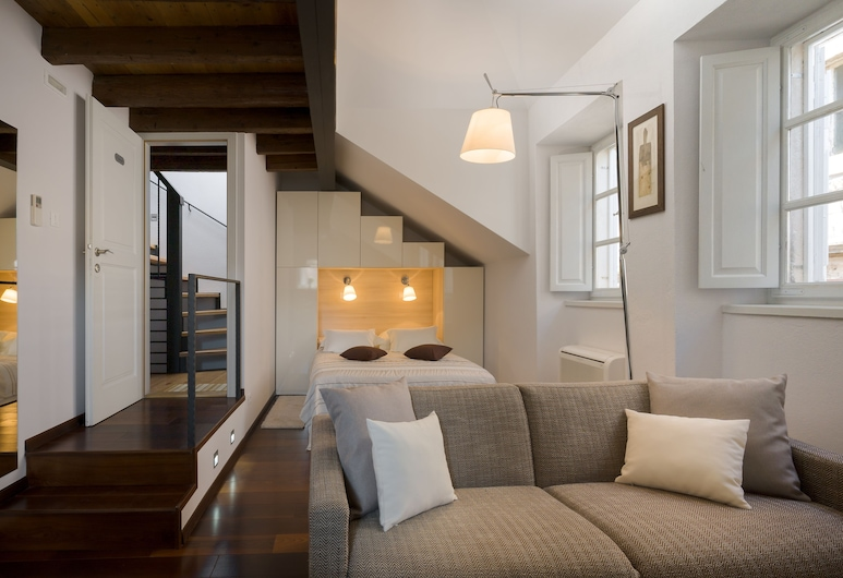 Nije Preša Apartments, Dubrovnik, Estúdio (Orlando), Área de estar