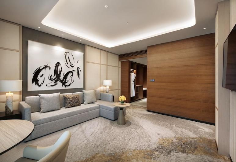Hyatt Place Taiyuan Longcheng, Taiyuan, Suite, 1 kingsize bed met slaapbank, Kamer