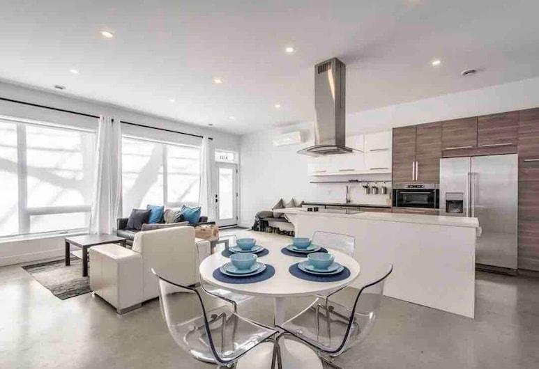 Luxury 2 Bedroom Apartment Downtown Halifax - Free Parking, 哈立法克斯, 豪華公寓, 2 間臥室, 客廳