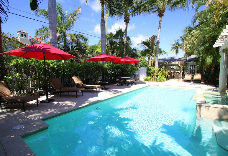 Casa Grandview Bed and Breakfast, West Palm Beach, Zwembad