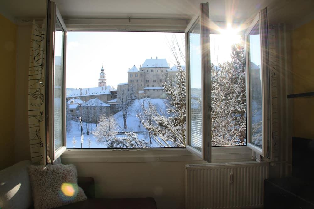Apartmán typu Deluxe, balkon - Obývací prostor
