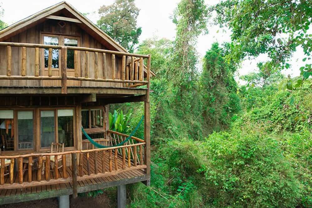 Family Μικρό Σπίτι - Θέα από το μπαλκόνι