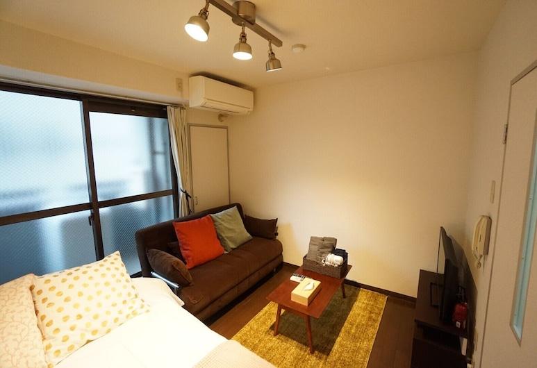 Apartment BS Trusty Tennoji, 大阪市, 4 人部屋, リビング ルーム