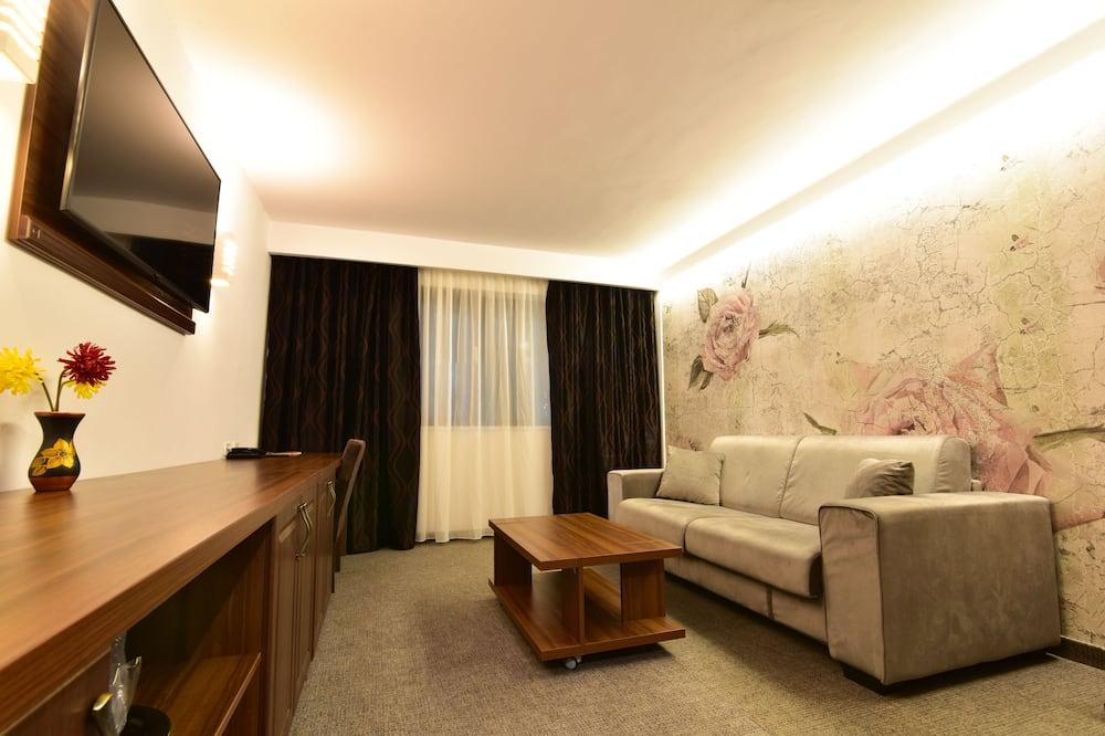 Paaugstināta komforta studijas tipa luksusa numurs - Dzīvojamā istaba