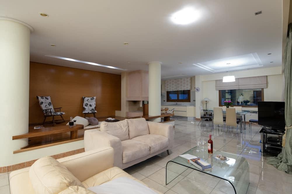Vila, 5 spální, súkromný bazén - Obývacie priestory