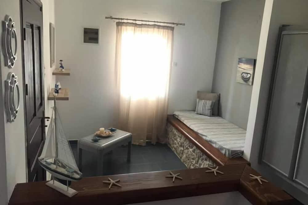 Basic Apartment, Sea View - Living Area