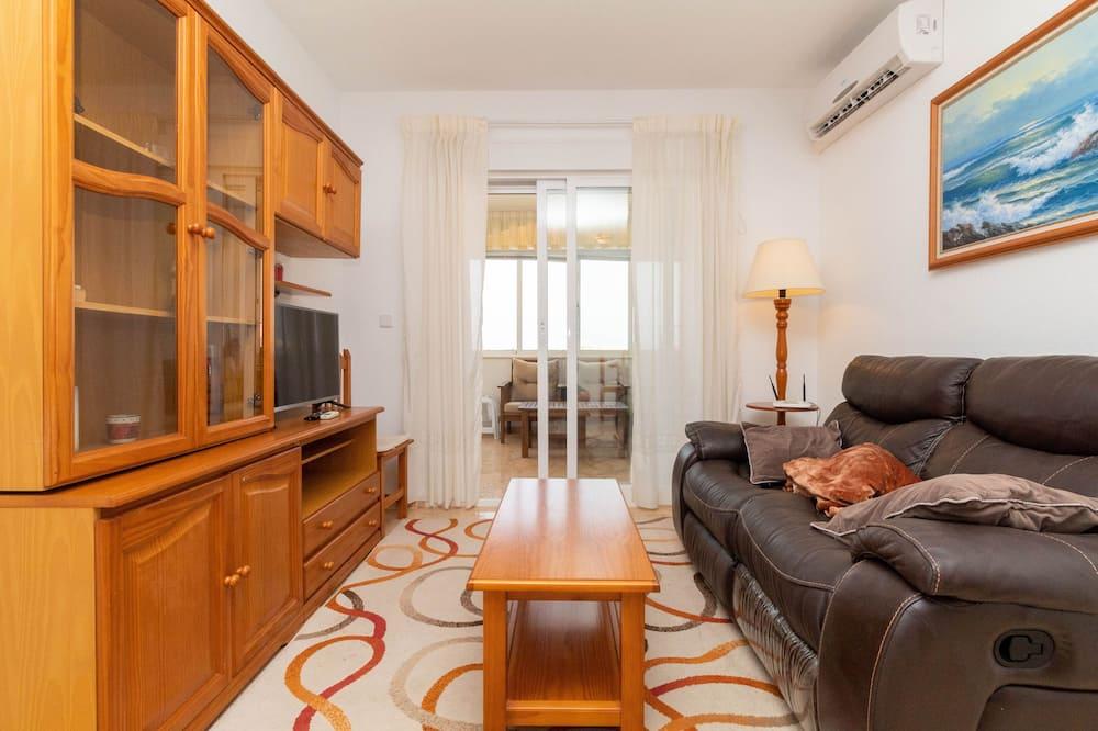 דירה קלאסית, 2 חדרי שינה - סלון