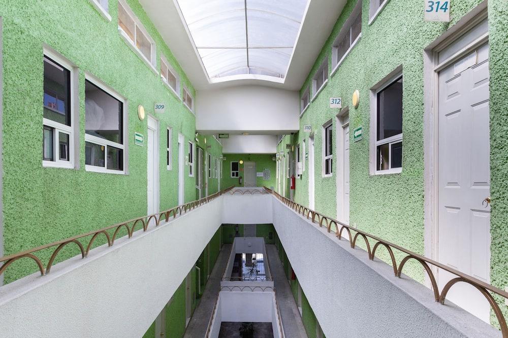 Standard-Doppelzimmer - Blick vom Balkon