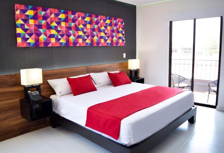 Hotel Dwana, Mazatlan, Deluxe King Room, Gjesterom