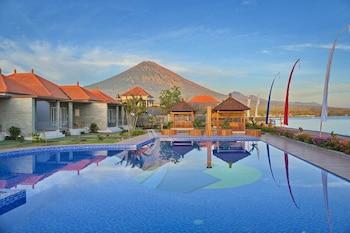 Karangasem bölgesindeki Seamount Hotel resmi
