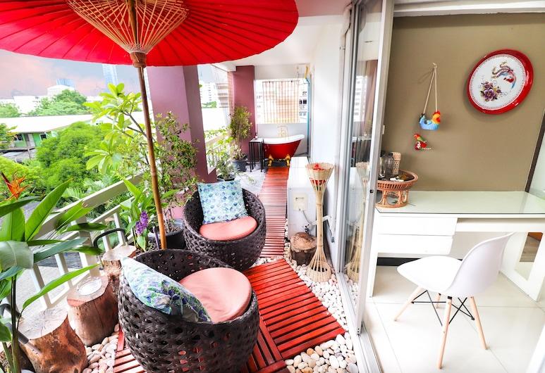 バンコク、ベッドルーム 2 室、アパートメント, バンコク, Sky Bath Exclusive 2 Bedroom Apartment (43A), 部屋