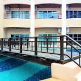 Apartment, 1King-Bett - Pool
