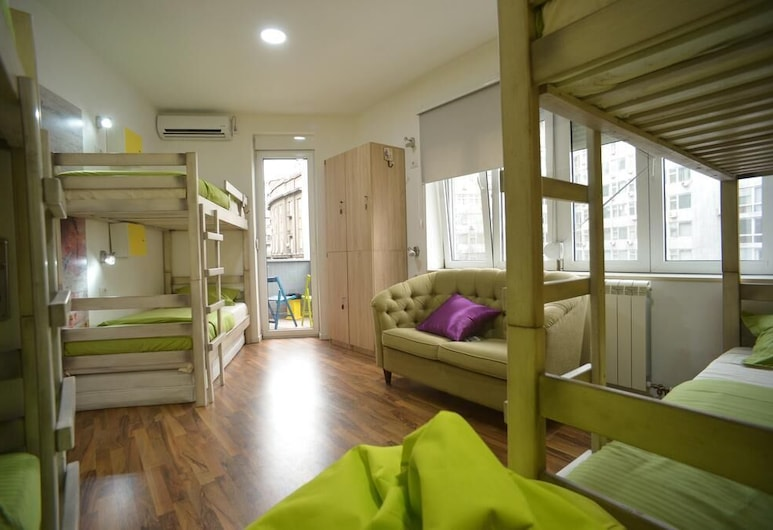 Hostel Stella Di Notte , Belgrad, Bed in 6-Bed Mixed Dormitory, Zimmer