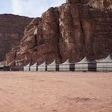 Štandardný stan, 3 jednolôžka - Výhľad na hory