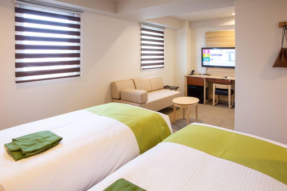 غرفة ديلوكس بسريرين منفصلين - غرفة نزلاء
